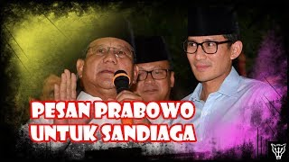 Video Prabowo Titip Pesan Ke Sandiaga, Dikira Wejangan Ternyata Blunder Besar! Alamat Kena Bully Lagi! MP3, 3GP, MP4, WEBM, AVI, FLV Agustus 2018