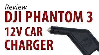 A 12V cigarette lighter charger can be a useful tool when in the field, but with the DJI Phantom 3 Batteries being 17.5V, we wanted...