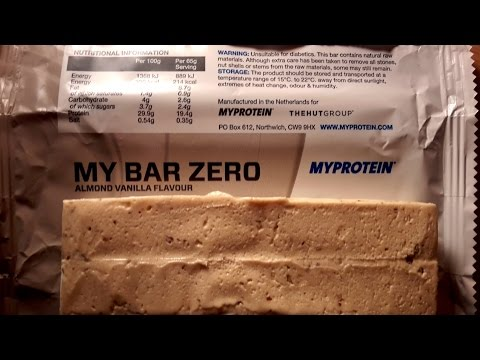 [Video] Review: My Bar ZERO von Myprotein – Die Questbar-Alternative?