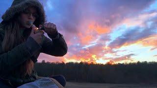 Sunset Smoke Sesh by Silenced Hippie
