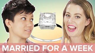 Single People Get Married For A Week • Jen & Kelsey