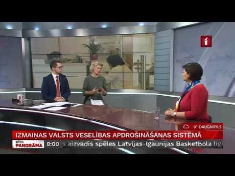 """Veselības ministres Ilzes Viņķeles saruna LTV """"Rīta Panorāma"""""""