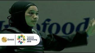 Video Pendekar Silat Wanita INDONESIA Sarah Tria Monita Raih Medali Emas di Asian Games 2018! MP3, 3GP, MP4, WEBM, AVI, FLV November 2018