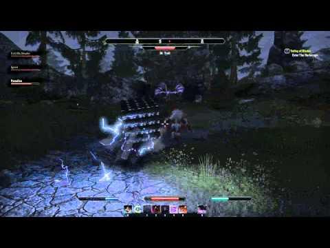 Elder Scrolls Online – Box Versus Troll