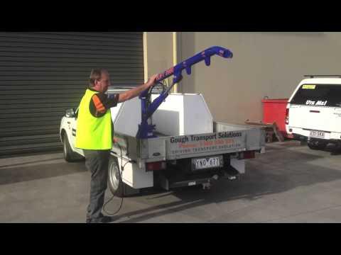 750kg Electric Hydraulic Ute Crane
