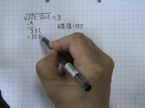 Vídeos Educativos.,Vídeos:Raíz cuadrada 4