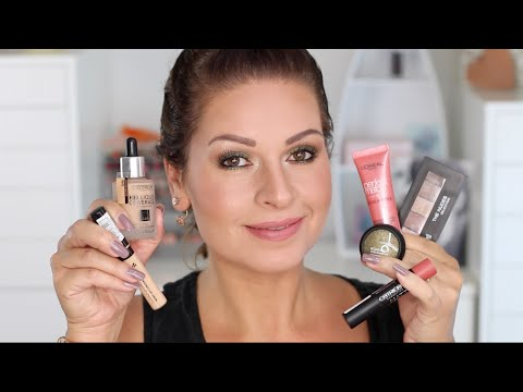 Drogerie Makeup First Impression & Review Trend it up, Catrice, L'Oréal  / Mamacobeauty