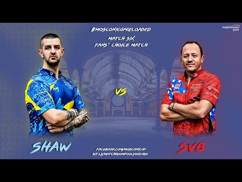 Mosconi Cup Reloaded: Jayson Shaw vs SvB (Fans' Choice Match)