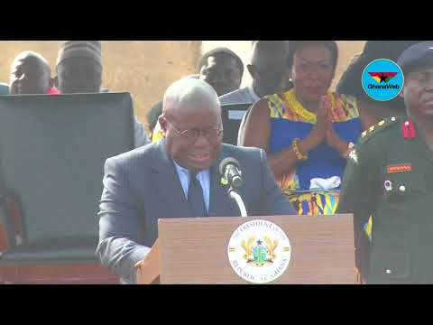 Full Speech: President Akufo-Addo Cuts Sod For Accra Marine Drive Project