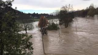 Acqui Terme Italy  City new picture : La piena devastante acqui terme
