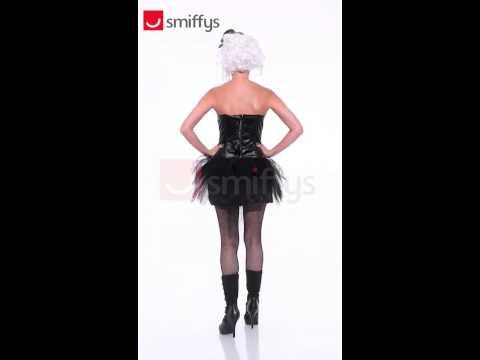 Déguisement de danseuse burlesque zombie