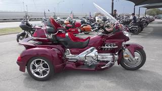 1. 402014 - 2005 Honda Gold Wing 30th anniv With Hannigan trike conv. - Used motorcycles for sale