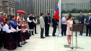 Download Lagu Slovenia independence day in Toronto Mp3