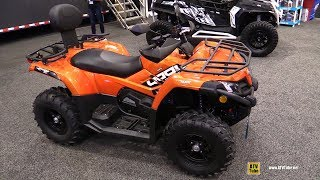 1. 2018 Cfmoto C-Force 400 Recreational ATV - Walkaround - 2017 Toronto Snowmobile ATV Show