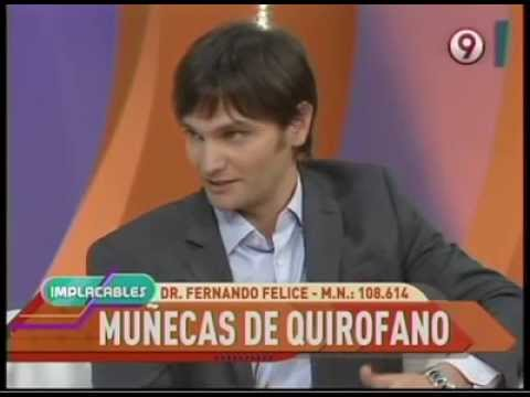 Entrevista al Dr. Fernando Felice en Implacables, Canal 9