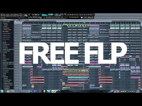 How to make Full Big Room Track + FLP - FL STUDIO 11 (With Elexode)