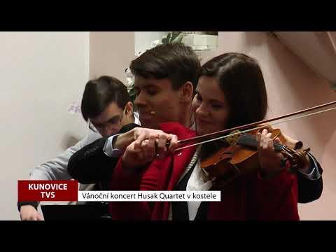 TVS: Kunovice - Koncert Husak Quartet