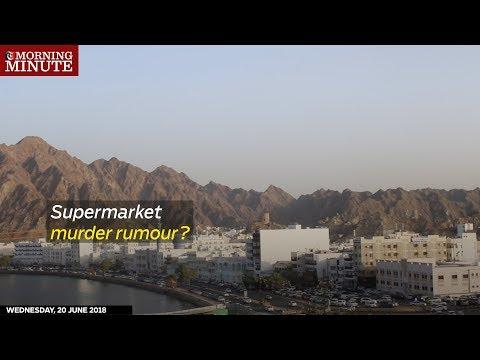 Supermarket murder rumour?