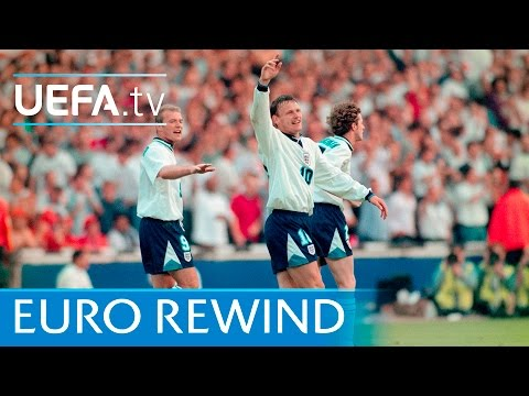 EURO '96 Highlights: England 4-1 Netherlands
