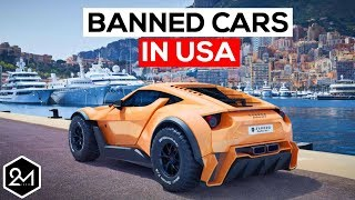 Video Top 10 Exotic Cars We're Not Allowed To Have In America - Banned Cars MP3, 3GP, MP4, WEBM, AVI, FLV Juni 2018