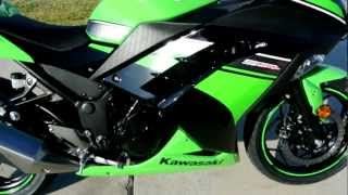8. 2013 Kawasaki Ninja 300 Black and Green Special Edition