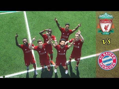 Liverpool Vs Bayern Munich | Full Match | PES 2018  Gameplays PC