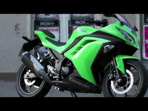 Vídeo – Kawasaki Ninja 300 2013