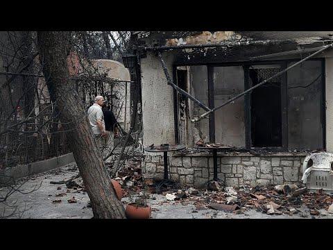 Συγκλονιστικές μαρτυρίες κατοίκων στην Αν. Αττική (vid)