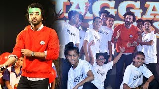Ranbir Kapoor Promotes Jagga Jasoos With Kids.Click this below link and subscribe to our channel to get all updates on Bollywood Movies, and your favorite Bollywood actresses and actors.http://goo.gl/cfijvC