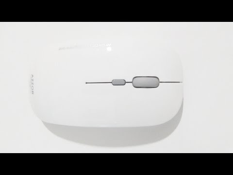 Azzor V8 Mouse (Wired/Wireless, Built-in battery, Silent Clicks)