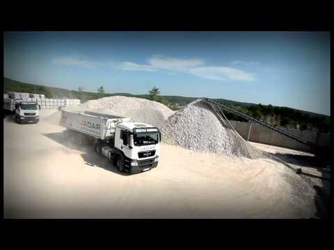 Techmatik - Automatyczna linia dozowania kruszywa / Line for automatic dispensing of raw materials