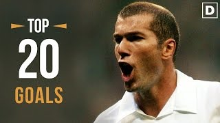 Video ZINÉDINE ZIDANE ★ Top 20 Goals Ever • HD MP3, 3GP, MP4, WEBM, AVI, FLV Oktober 2017