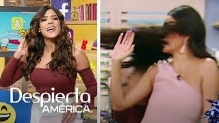 Francisca golpea a Ana Patricia en la cara con su cabello
