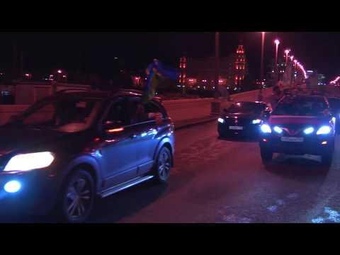 День ВДВ в Москве (в ночь с 1 на 2 августа 2017 года)