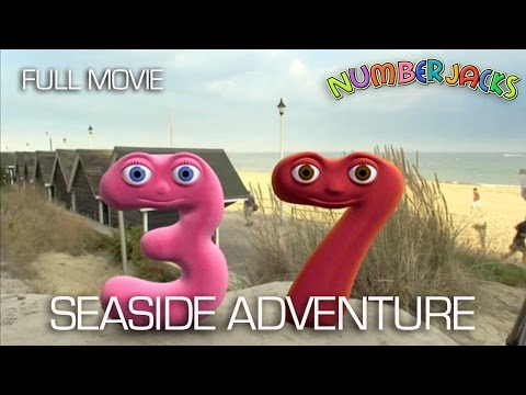 NUMBERJACKS | Seaside Adventure | Full Movie