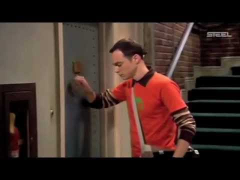 the big bang theory - sheldon knock