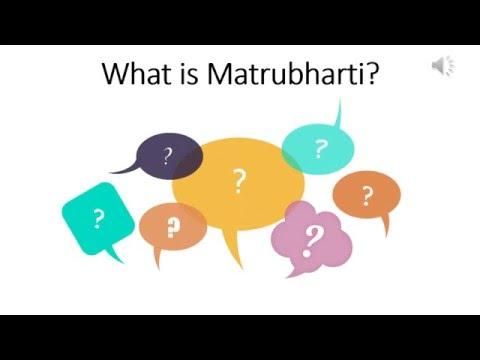 What is Matrubharti? Logo Launch