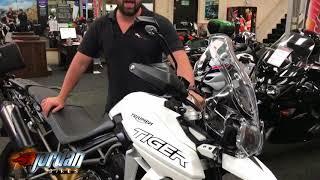 8. Jordanbikes- for sale Triumph Tiger 800 XRX Low chassis 2018/18 411 miles £9490