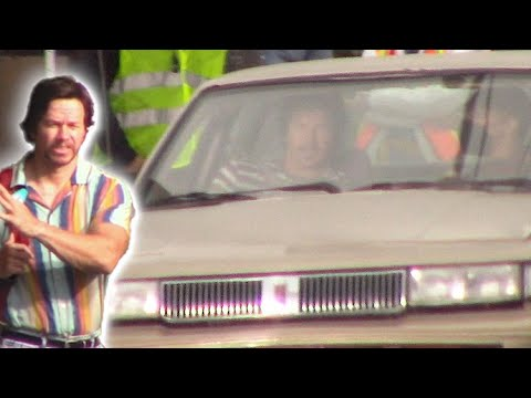 Mark Wahlberg Spotted On The Set Of His Upcoming Film 'Stu'