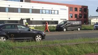 Verkeershinder door ongeval met meerdere voertuigen