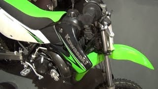 8. Kawasaki KX65 (2011) Exterior and Interior in 3D 4K UHD