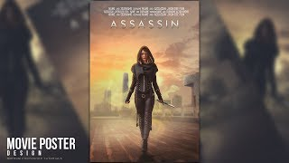 """Hi everyone. Today I will show you how to create a movie poster titled """"Assassin"""" in Adobe Photoshop CC. Using easy photo manipulation techniques to create a cool poster movie artwork. I hope you like it and enjoy!More Photoshop Tutorials: http://www.youtube.com/c/MirRom14Tutorial Resources:Assassin by MyladyTane : http://myladytane.deviantart.com/art/STOCK-Assassin-girl-I-530937515Beijing Skyline by thinking-fishSTOCK : http://thinking-fishstock.deviantart.com/art/beijing-skyline-125653623Knife by Inadesign-Stock : http://inadesign-stock.deviantart.com/art/Knife-9-Stock-122108056Sky by Lilinaceleste : http://lilinaceleste.deviantart.com/art/Cielo-16-643176889Fog Brushes by SkylinerzEx: http://skylinerzex.deviantart.com/art/FogMistBrushPack-343093468Follow Us : Facebook : https://goo.gl/H5m598Google+ : https://goo.gl/PMkAPNWeb : http://goo.gl/E4vwh4Twitter : http://bit.ly/1RlY5QnMusic Credits:Assasins oleh Audionautix berlisensi Creative Commons Attribution (https://creativecommons.org/licenses/by/4.0/)Artis: http://audionautix.com/Photohop Tutorials Movie Poster : http://bit.ly/1phkZQcPhotoshop Tutorials Poster : http://bit.ly/1Q7bQTb"""