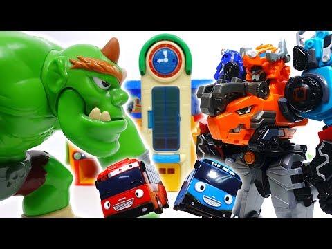 Go Go Dino-Core 2, Defeat Monster Bugs & Giant Ogre~!