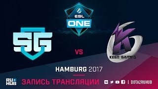 SG-eSports vs Keen Gaming, ESL One Hamburg, game 1 [v1lat, Dead_Angel]