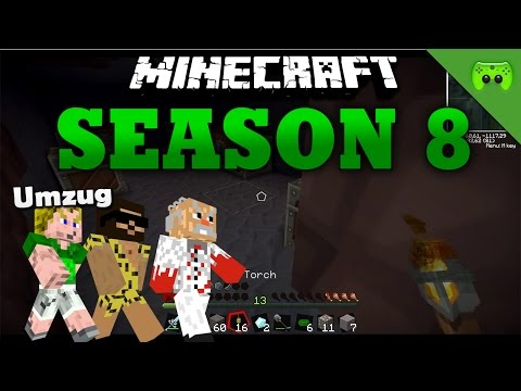 UMZUG «» Minecraft Season 8 # 18 | HD