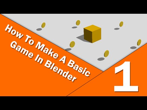 How to Make a Basic Game in Blender • Part 1