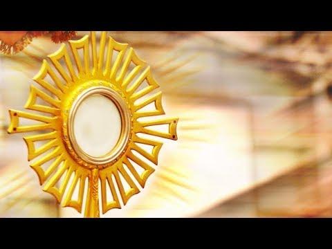 EUCARISTIA Parte 1 - Mistério da Eucaristia