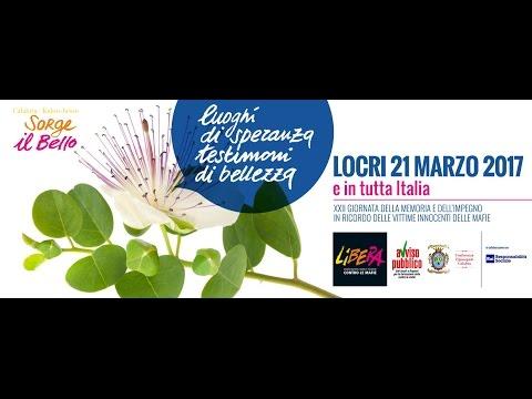 """La Calabria """"pulita"""" che dice no alla mafia, in migliaia a Locri per il giorno della memoria"""