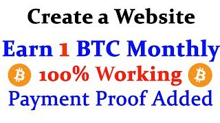 My Website Link:- Tamilfreebtc.tkWhatsapp No:- 9715070913   Hi friends welcome to Technic Tech channel and today I am going to share Create a Website and Earn 1 BTC Monthly  Live Showing Earnings Proof  Earn BTC Without Work. ******************************************************************JOIN Technic Tech Whatsapp Group & Support us : https://chat.whatsapp.com/E1WSGkIMN551y5CzoEz2ep******************************************************************Like My Facebook Page :- https://www.facebook.com/TechnicTechFollow Me On Google+ :- https://plus.google.com/b/111856524282932590081Subscribe Me :- https://www.youtube.com/channel/UCn7tQqwYbs6ZLzhEN76uZ-A?sub_confirmation=1