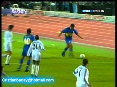 GOLES DE PALERMO EN FINAL INTERCONTINENTAL 2000